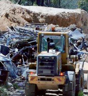 Landfi ll site at Mangrove Mountain