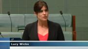 Lucy Wicks MP - Now overseas NBN  committee