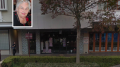 The Bev Benson Fashion store in Mann St. Gosford. (Mrs Benson inset).