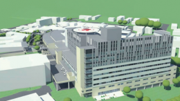 An artist's view of the redeveloped Gosford Hospital
