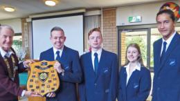 Kincumber High debate team retain the Lerryn Mutton shield
