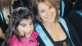 Luciane at her graduation ceremony in 2015 with daughter Johanne