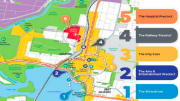 The newly-released Central Coast 2036 Regional Plan shows the Arts and Entertainment Precinct  as the former Gosford Public School site