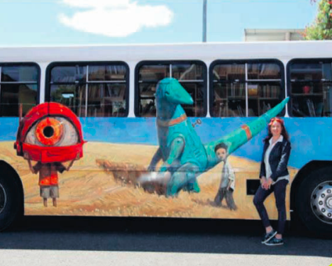 Russ the Story Bus will visit Gosford as part of the Sydney Writers' Festival