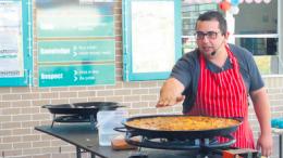 Chef Daniel and his Spanish paella