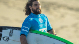 Avoca's Wade Carmichael ended a Series of high hopes on a shock low photo World Surf League