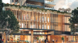 An artist's impression of Bonython Tower, to be built in Mann St