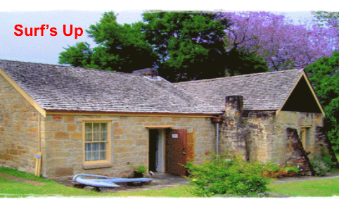Exhibition held at Henry Kendal cottage entitled 'Surf's Up' is open all summer