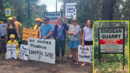 Somersby residents draw attention to the Rindean Quarry proposal