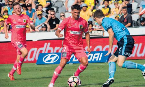 Fabio Ferreira on the ball
