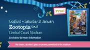 Cinema Under the Stars will return to the Central Coast Stadium this Sat night