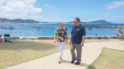 Stephanie Foster with Member for Terrigal Mr Adam Crouch