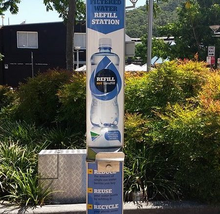 Seven new water refill stations installed - Central Coast