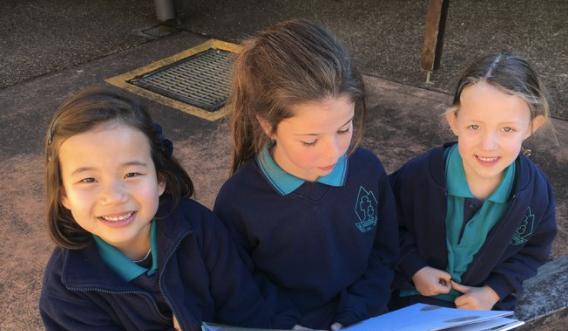Pupils from Valley View Public School photo: School Website