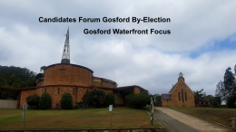 A candidates forum will eb held on Fri 31st March