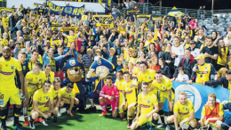 Central Coast Mariners' family photo