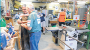 The Men's Shed is a place to work and socialise