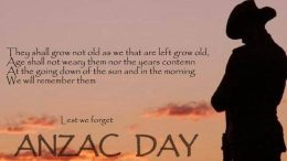 ANZAC day remembrance events will be held across the Central Coast
