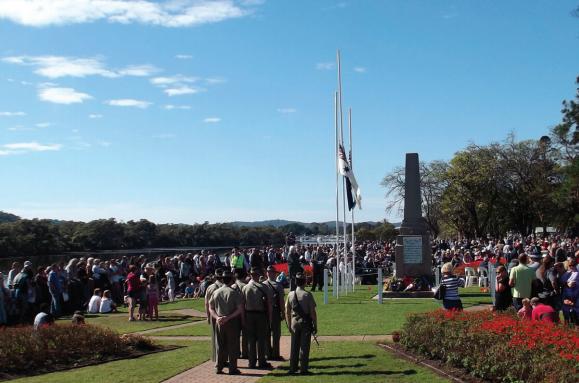 ANZAC celebration 2016, Woy Woy