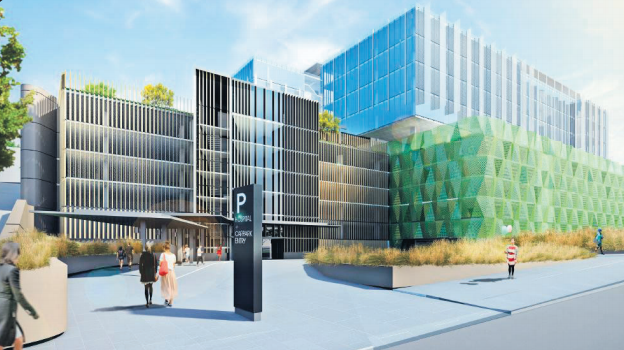 The Gosford Medical School and Research Institute will be located in state-of-the-art facilities over the new multi-storey car park