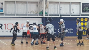 Action from the National Championship