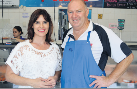 Fish and chip lovers have been urged by the Member for Robertson to vote for the best fi sh and chips in Australia.