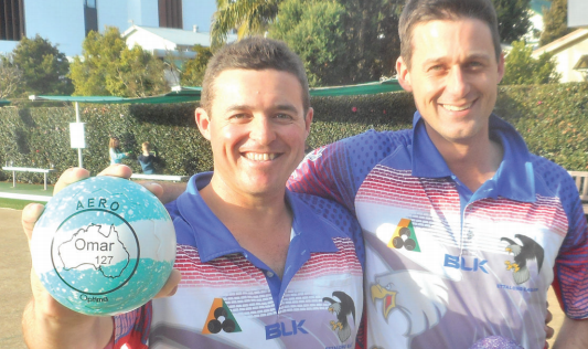Ettalong's Lee Trethowan and Aron Sherriff win three Central Coast Open Pairs in a row