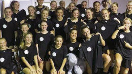 Dance Editorial's Shannon Hsu (centre fi rst row) with Central Coast Dancers