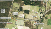 An overview of the composting site at Somersby