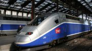 France's TGV high-speed trains require a special rail corridor
