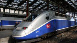 France's TGV high-speed trains require a special rail corridor