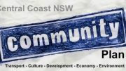 The Community Plan is a non party policy document for the Central Coast Council