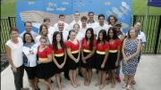 Staff and senior students of Gorokan High School. Image: School website
