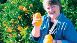 Kulnura farmer Ms Lorraine Wilson