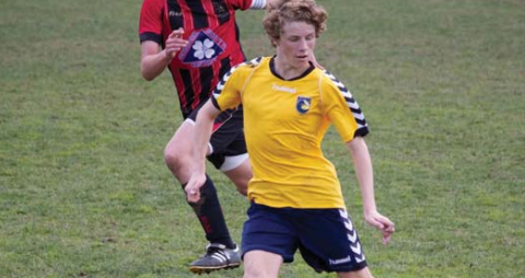 Trent Buhagiar from Umina Eagles under-5s to Central Coast Mariners attacker Photo: Noel Fisher