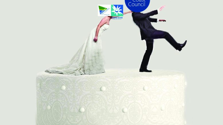 Shotgun wedding between Wyong and Gosford Council