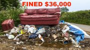 Local dumpers fined $36,000