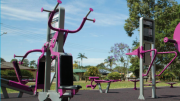New outdoor gym opened