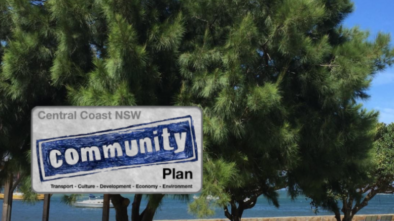 Community Plan Central Coast presentation slide