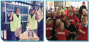 The big winners on the north were the Labor party and Lousie Greenway's New Independents