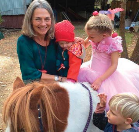 Ms Scilla Sayer (pictured) will present Healing with Horses with Ms Jedda Britten at the Ecovillage