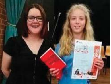 Neeve Davies took out the Central Coast finals of the Premier's Spelling Bee