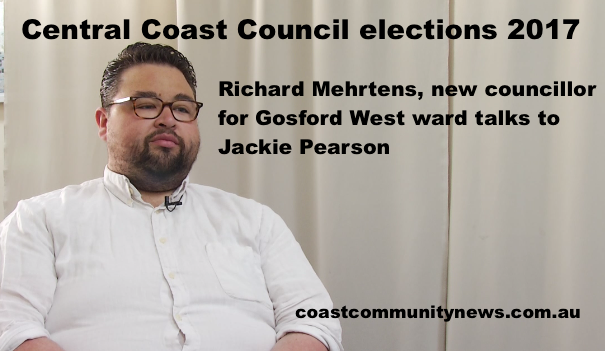New Councillor Richard Mehrtens was one of several councillors interviewed in a new Video News segment.