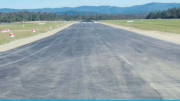 The current airstrip at Warnavale / Central Coast airport