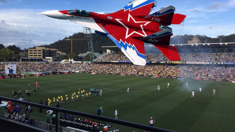 BOOM: Newcastle Jets 'bombed' the Central Coast Mariners into submission in the F3 derby - 1,5. Image: Community News Partners