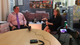 Chris Holstein speaks with our Senior Journalist Jackie Pearson