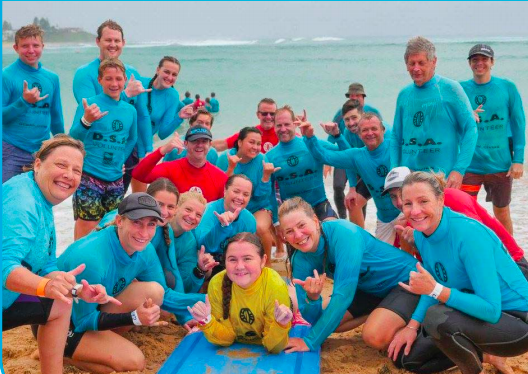 Disabled Surfers Association makes a real difference.