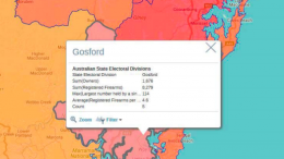 Statistics for the NSW state electorate of Gosford