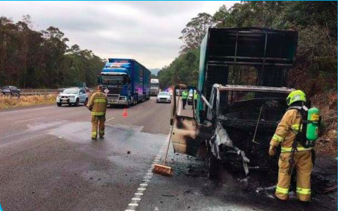 Clean-up works on the M1 caused delays for southbound motorists near Ourimbah