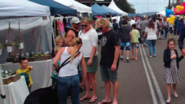 Visitors to last year's Oyster Festival